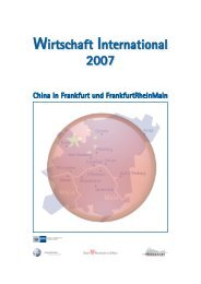 China in FrankfurtRheinMain (deutsch) (pdf, 4.0 ... - Frankfurt am Main