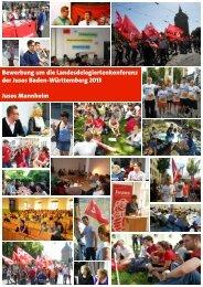 Bewerbung um die Landesdelegiertenkonferenz der Jusos Baden ...