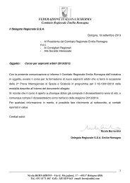 Circolare corso arbitri 2013-14 - FIS - Comitato Regionale Emilia ...