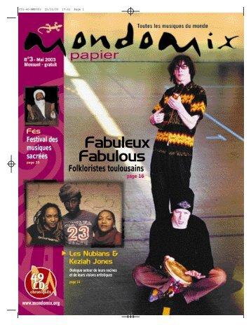 Fabuleux Fabulous - Mondomix