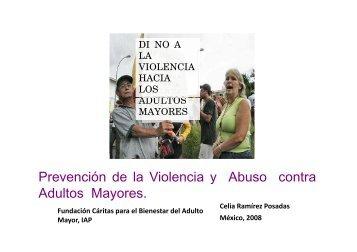 Prevención de la Violencia y Abuso contra y Adultos Mayores.