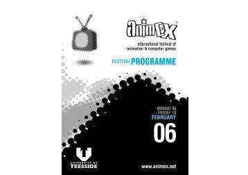 Download the Festival Programme (pdf) - Animex