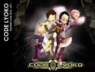 to download the PDF - Code Lyoko