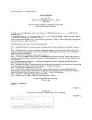 Ministerul Agriculturii şi Dezvoltării Rurale Ordin nr. 216 ... - AGVPS