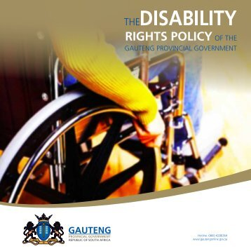 Disability policy.pdf - Gauteng Online