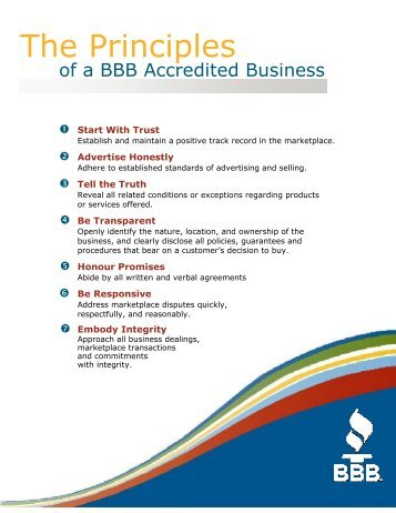 to download all the information you need. - BBB - Better Business ...