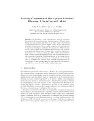 Evolving Cooperation in the N-player Prisoner's Dilemma: A Social ...