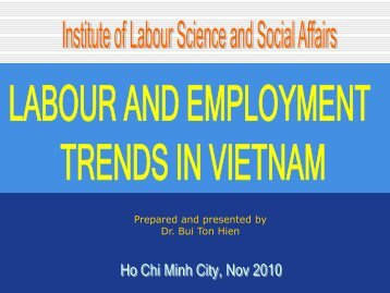 Labour and Employment Trends in VN - Eurocham