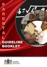 Parental Guidelines Booklet - Gauteng Online