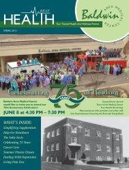 download a PDF copy - Baldwin Area Medical Center