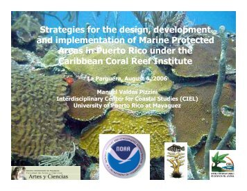 Aug 2006 (PDF) - Caribbean Coral Reef Institute