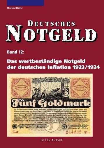 Das wertbeständige Notgeld - Gietl Verlag