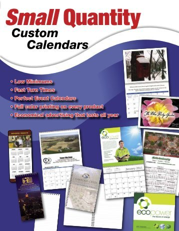 Custom Calendars - Norwood Promotional Products