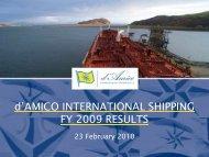 Presentation - Investor Relations - Tanker