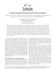 Theory and Research - Laureate Learning Systems