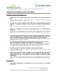 Urinary Tract Infection (UTI) Fact Sheet - Seek Wellness