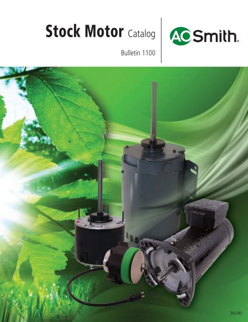 A.O.Smith Motor Catalog - Universal Electric Motors on