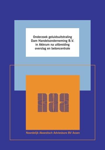 Bijlage 1 Akoestisch onderzoek - Gemeente Leeuwarden