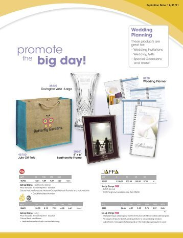 big day! - Norwood Promotional Products
