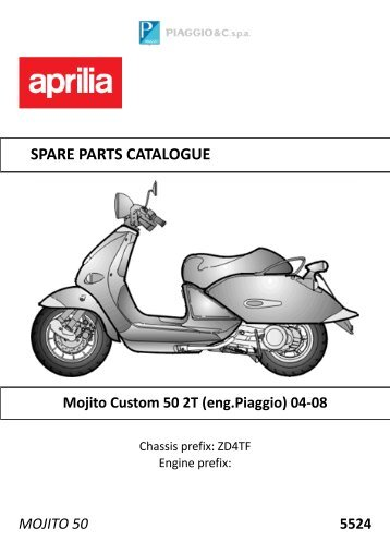 SPARE PARTS CATALOGUE - Scooter Tyres