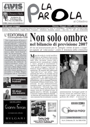 2007 - Anno I N.10 - Fornoms.net