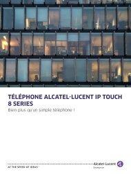 Alcatel-Lucent 8 Series IP Touch Phones - amiando.com