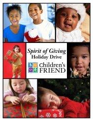 Holiday Drive - Children's Friend