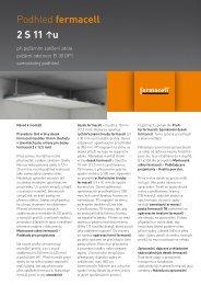 Konstrukční list - 2S11u - Fermacell