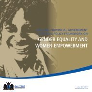Gender Equality and Women Empowerment.pdf - Gauteng Online
