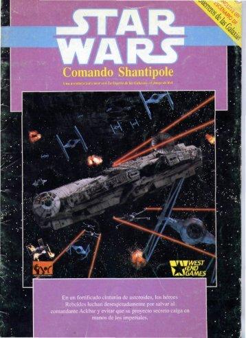 Star Wars - D6 - Aventura Oficial - Comando Shantipole.pdf - Baykock