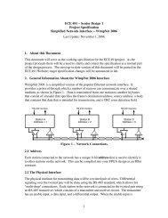 1 ECE 491 – Senior Design 1 Project Specification ... - cadapplets