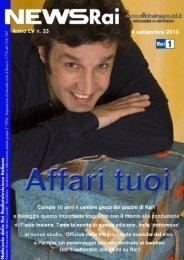 NEWS RAI N.33 - Ufficio Stampa Rai