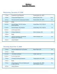 Module I II VII - Schedule - Dec 2008 - American Academy of Anti ...