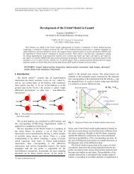 Development of the Fritiof Model in Geant4 - Cern