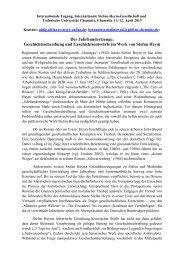 Der Jahrhundertzeuge: - Internationale Stefan-Heym-Gesellschaft eV