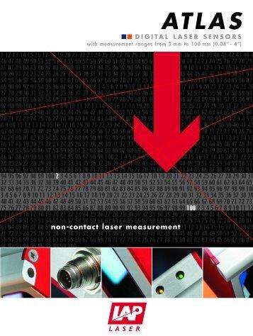 Digital Laser Sensor ATLAS