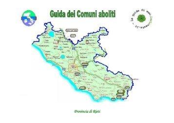 Provincia di Rieti - Lazionauta