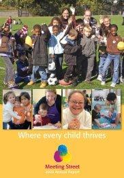 Annual Report 2009 - Meeting Street