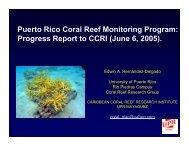 Jun 2005 (PDF) - Caribbean Coral Reef Institute (CCRI)