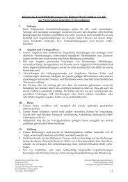 Allgemeine Geschäftsbedingungen Helmut Thiel GmbH & Co. KG