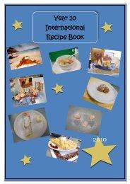 Year 10 International Recipe Book - 2010 - Home