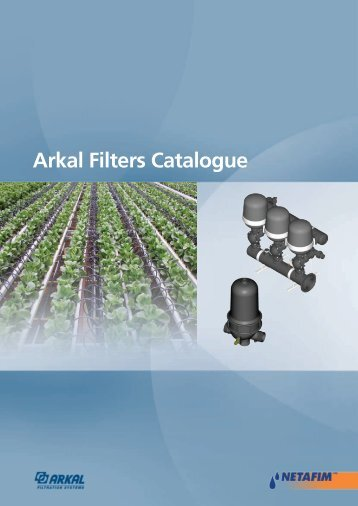Arkal Filters Catalogue - Netafim