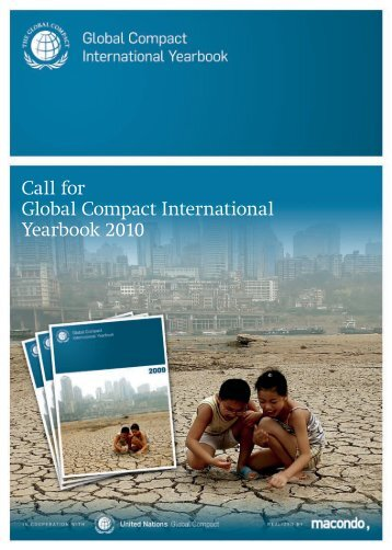 Call for Global Compact International Yearbook 2010