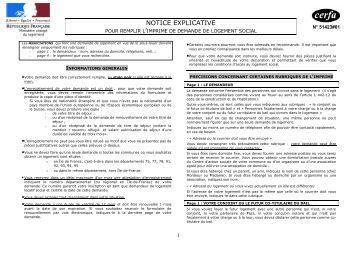 Notice explicative cerfa for Formulaire cerfa 13703