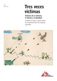 Tres veces víctimas - Médicos Sin Fronteras