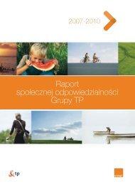 raport CSR za lata 2007-2010