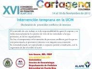 Intervención temprana en la UCIN. - Alape