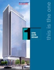 1 York Street Brochure - new release condos