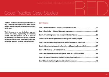 Good Practice Case Studies - cadad