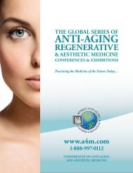 Conferences & Exhibitions - American Academy of Anti-Aging ...